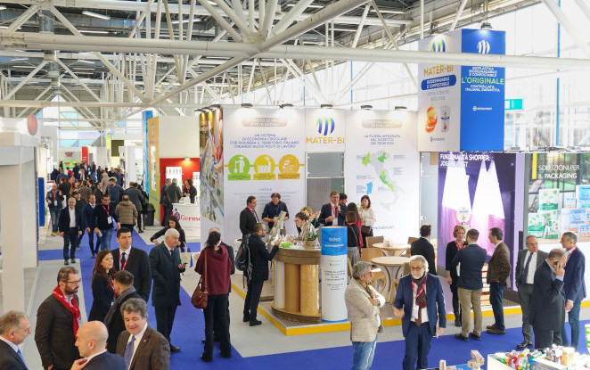 Novamont at MARCA 2019 - Private Labels Conference and Exhibition