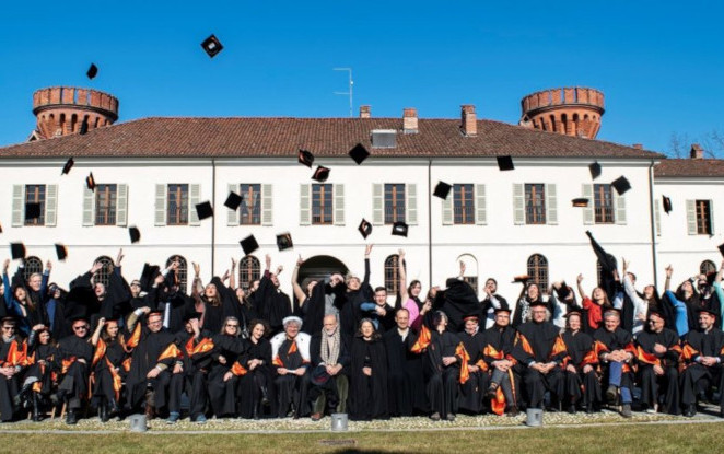 Graduation day of the University of Gastronomic Sciences: Catia Bastioli among the guests of honor